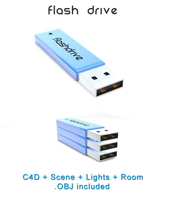 3DOcean Flash Drive 1621482