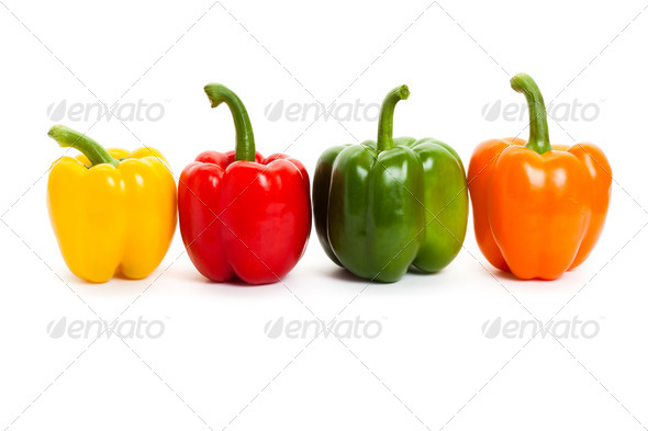 Bell Pepper - Stock Photo - Images