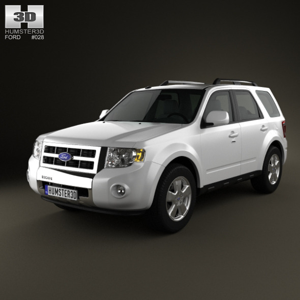 3DOcean Ford Escape 2012 1627243