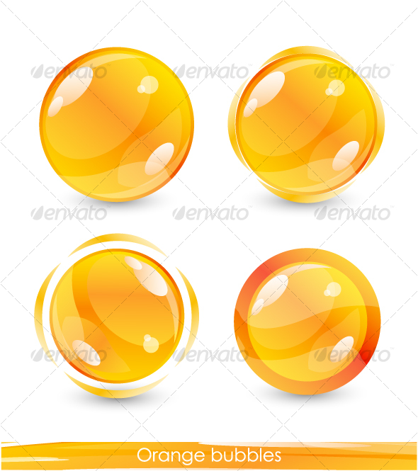 Orange buttons - Web Technology