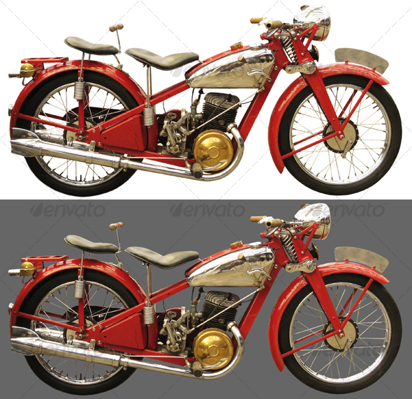 ancient motorcycle galery