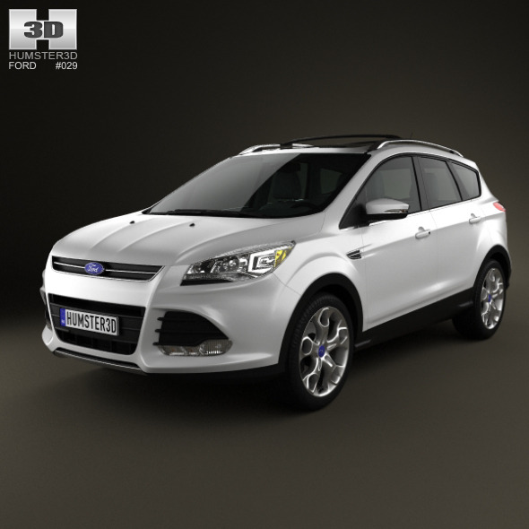 3DOcean Ford Escape 2013 1630642