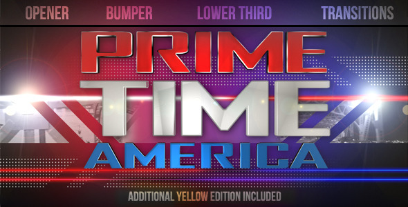 After Effects Project - VideoHive Prime Time Show Graphics Pack 1631087