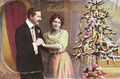 Vintage German christmas postcard - PhotoDune Item for Sale