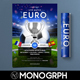 Euro Cup 2016 Flyer 世界杯-Graphicriver中文最全的素材分享平台
