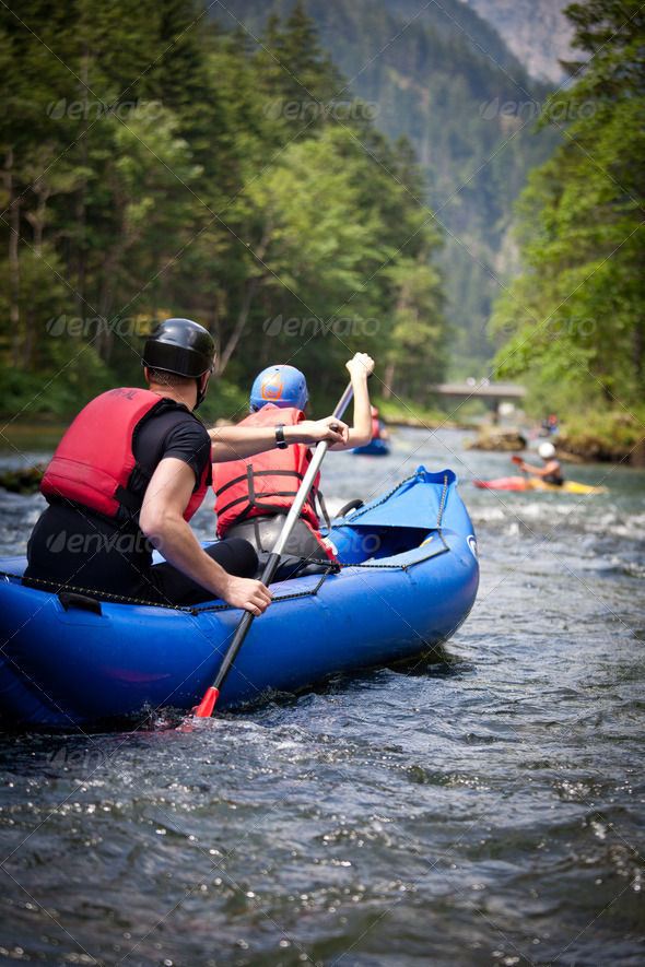 Stock Photo - PhotoDune white water rafting 1638006