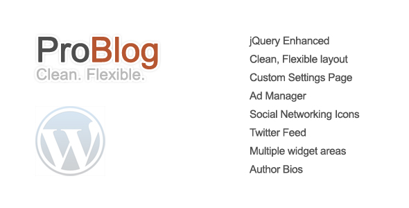 ProBlog - A Flexible Wordpress Theme