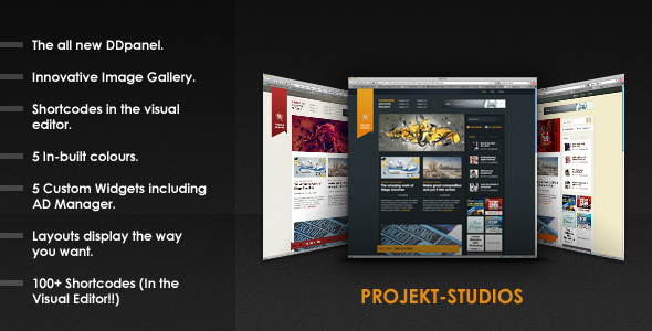 Projekt-Studios - The Perfect Blogging Solution