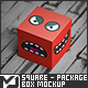 Square - Package Box Mockup-Graphicriver中文最全的素材分享平台