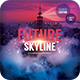 Future Skyline CD Cover Art-Graphicriver中文最全的素材分享平台