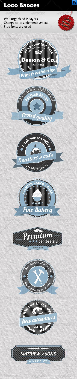 GraphicRiver Logo Badges 1645355