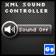 XML Sound Controller - ActiveDen Item for Sale