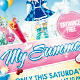 My Summer Vol.2 Flyer Template - GraphicRiver Item for Sale