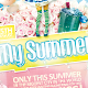 My Summer Vol.4 Flyer Template - GraphicRiver Item for Sale