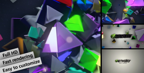 After Effects Project - VideoHive Breakbeat 3D Logo Sting 1647252