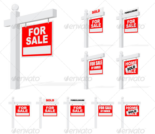GraphicRiver Real Estate Signs 28684