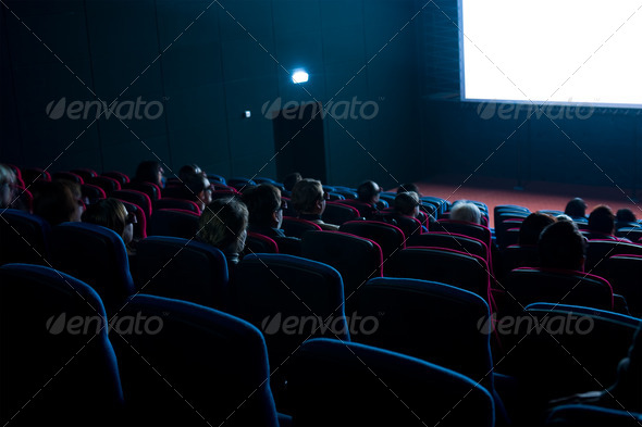 PhotoDune viewers watch 3D movie 1659679