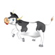Skipping cow - GraphicRiver Item for Sale
