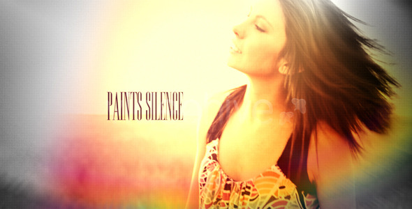 After Effects Project - VideoHive Paints silence 1273707