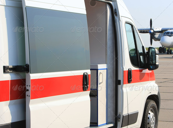 Emergency ambulance - Stock Photo - Images
