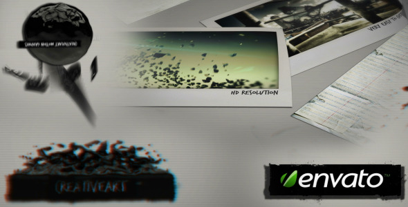 Morphing VideoHive -   Video Displays  Grunge 1623270