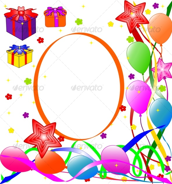 Graphic River Happy Birthday background Vectors -  Conceptual  Seasons/Holidays  Birthdays 65059
