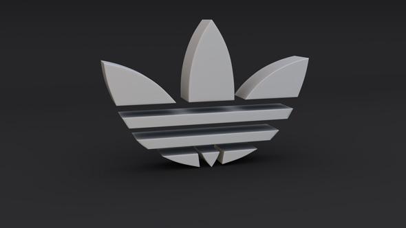 3DOcean Adidas Logo Model 1667963