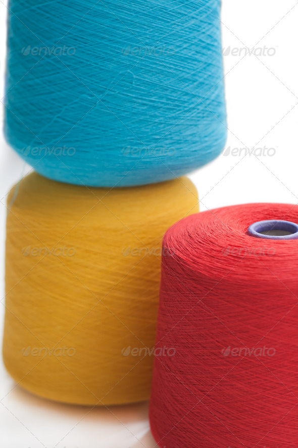Textile industry  - Stock Photo - Images