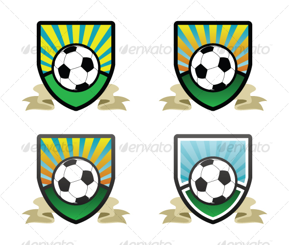 Soccer Shield / Emblem - Sports/Activity Conceptual