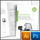 Clean Products Half Fold Brochure - GraphicRiver Item for Sale