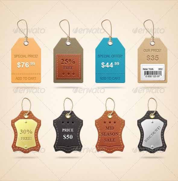 Realistic Price Tags