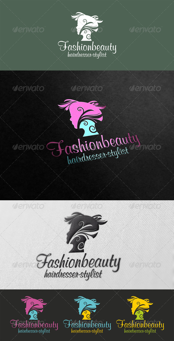 Fashionbeauty Logo Template - Humans Logo Templates
