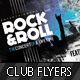 Concert Club Flyer Template - Rock and Roll - GraphicRiver Item for Sale