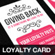 Business Loyalty Card Template Vol.2 - GraphicRiver Item for Sale