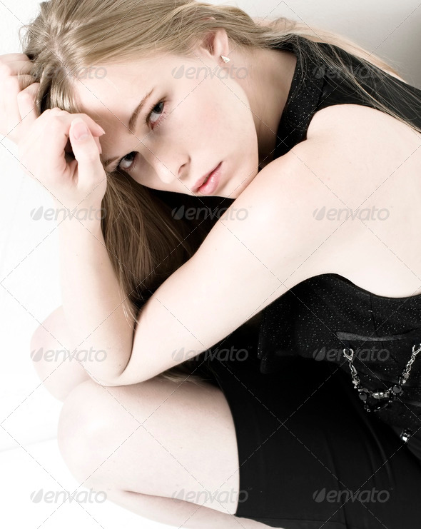 Pale portrait - Stock Photo - Images
