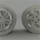 BMW and Audi Rim - 3DOcean Item for Sale