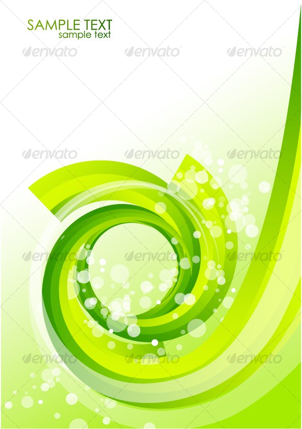 Green organic background - Backgrounds Decorative