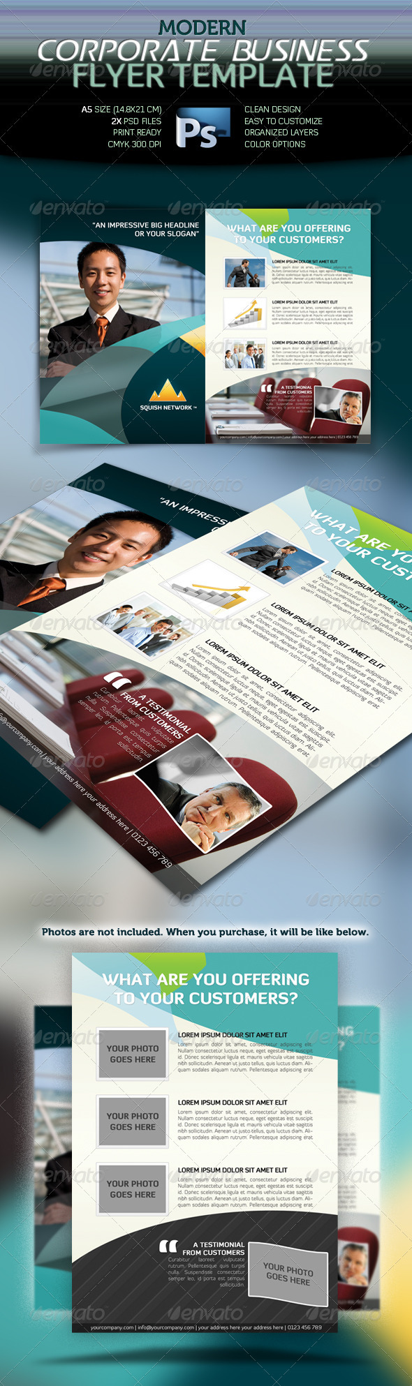 Modern Corporate Business Flyer - Corporate Flyers