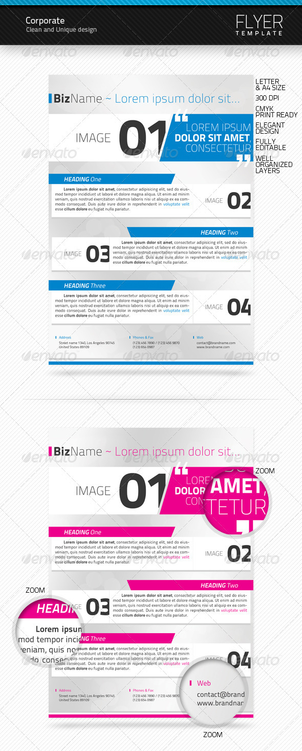 GraphicRiver Corporate Flyer Templates 1687489