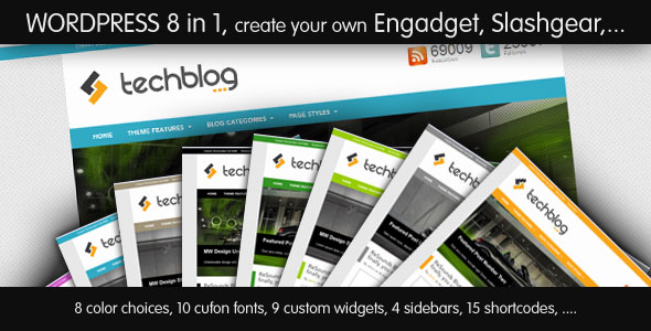 TechBlog - Professional Tech Blog Theme