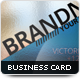 Impact Transparent Business Card - GraphicRiver Item for Sale
