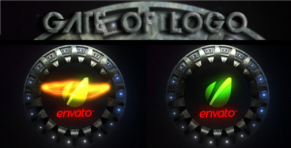 VideoHive Gate Of Logo 1688011