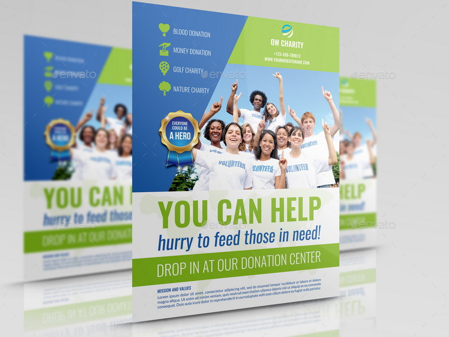 Volunteer Flyer Template Image Collections Template Design Ideas