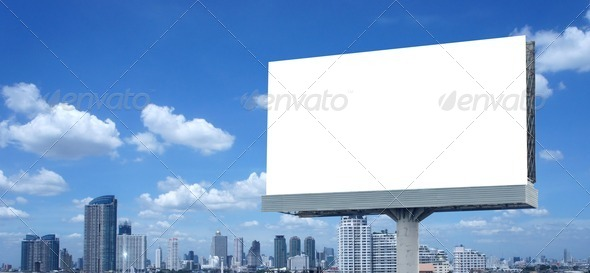 Stock Photo - PhotoDune Blank billboard 1966164