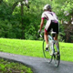 Female Street Biker Riding on Nature Trail - VideoHive Item for Sale