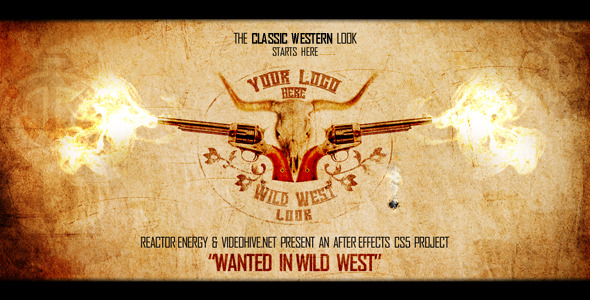 After Effects Project - VideoHive Wanted in Wild West 1556647
