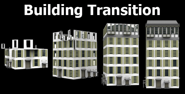 Building Transition VideoHive Motion Graphic  Transition  3D Object 1694413