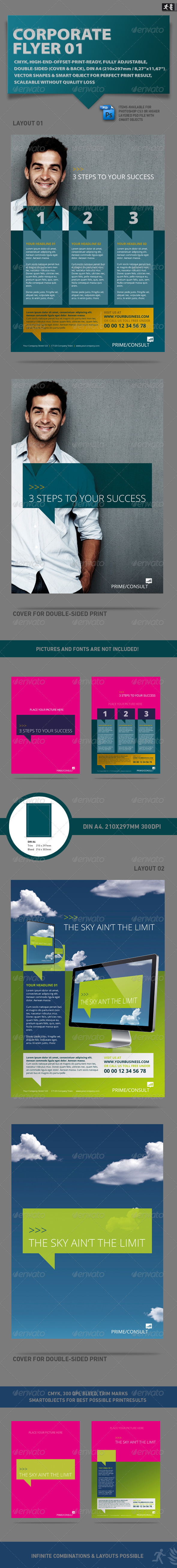 GraphicRiver DOA Corporate Flyer 01 1694468