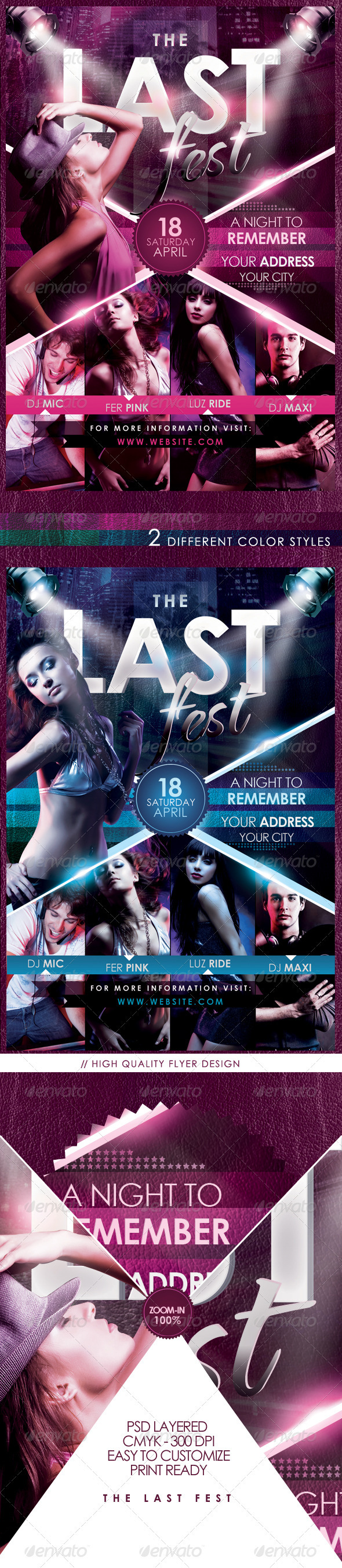 The Last Fest Flyer Template - Flyers Print Templates