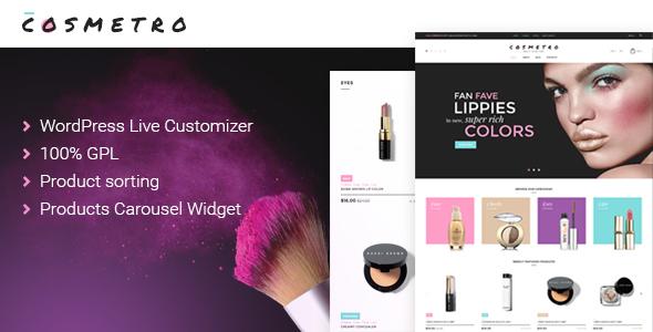 Cosmetics Store WooCommerce Themes